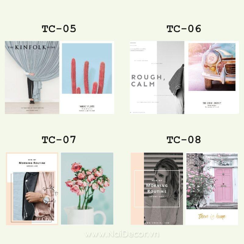 Bìa tạp chí trang trí chụp ảnh sản phẩm thời trang