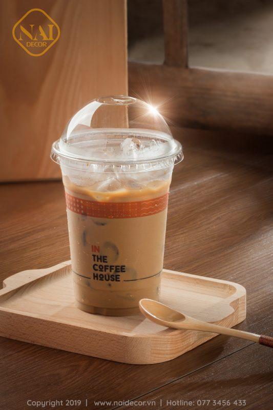 Nền gỗ PVC màu nâu chụp ảnh food, đồ uống, cafe