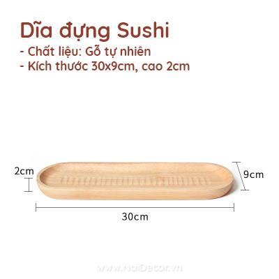 Dia go sushi chup anh dg 07