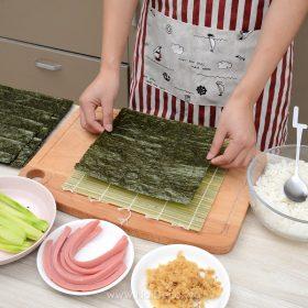 manh tre cuon sushi kimbap 7