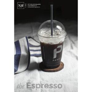 vai xo chup anh ca phe espresso