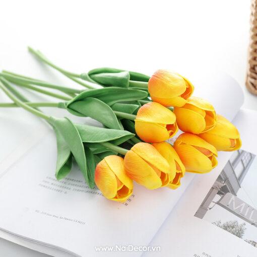 hoa tulip trang tri phu kien chup anh nhieu mau 11