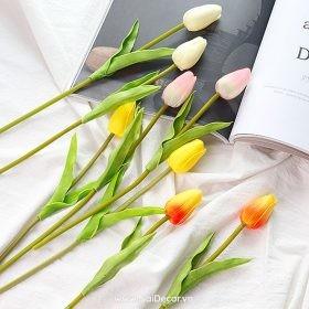 hoa tulip trang tri phu kien chup anh nhieu mau 4
