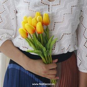 hoa tulip trang tri phu kien chup anh nhieu mau 5