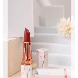 Chụp Son môi với khối hình học bậc thang trắng, BST, cam, cam nhạt 2, khối hình học, mỹ phẩm, sản phẩm, son môi, Trắng, concept chụp ảnh