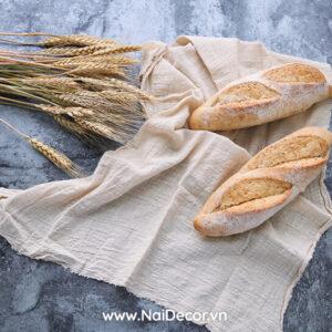 bánh mì, BST, Cam nhạt, cam nhạt 2, Đồ ăn, Lúa mì, nền xi măng, Vải lanh, vàng nhạt 2, xanh dương nhạt, chủ đề, concept chụp ảnh, gợi ý mua hàng