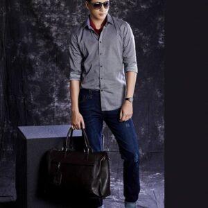 Chụp Quần áo Thời trang nam với Phông loang màu đen, concept chụp lookbook, phông nền chụp thời trang, phông studio màu đen