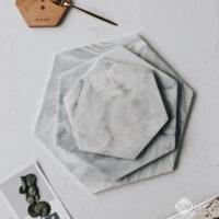 Khay Da Marble Hinh Luc Giac Hien Dai (1)