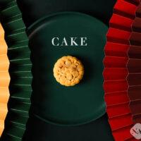 Chụp Bánh trung thu Style hiện đại với Quạt giấy, BST ,Bánh trung thu ,Quạt giấy trang trí ,Đĩa sứ ,Nền màu , concept hiện đại 2020