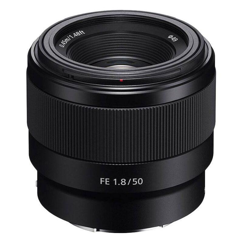 Lens-sony-sel50f18f