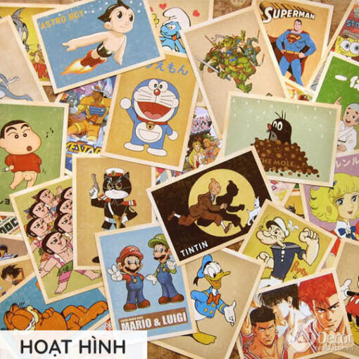 Postcard Retro Hoat Hinh S1