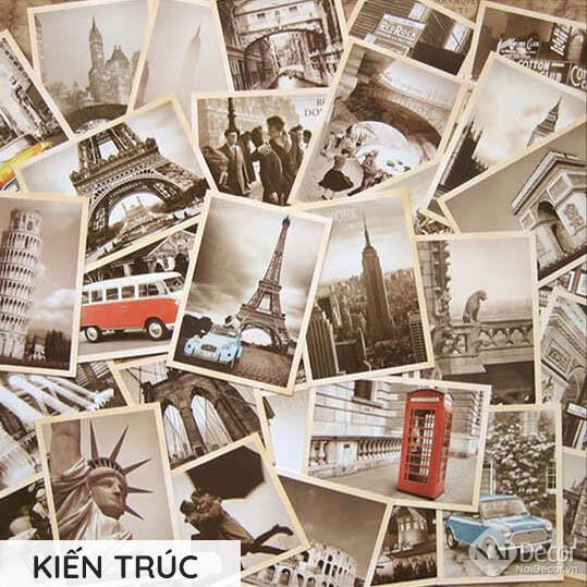 Postcard Retro Kien Truc S5