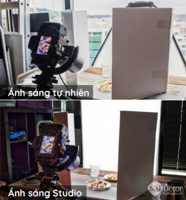 Anh Sang Tu Nhien Va Anh Sang Studio