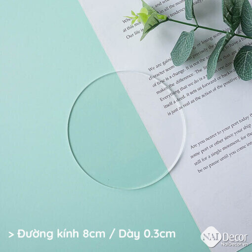 Tam Nhua Acrylic Trong Suot S1